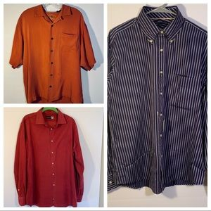 Bundle of men's dress shirts